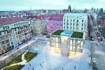 Pražští radní odmítli stavbu na náměstí Miloše Formana, která je součástí rekonstrukce přilehlého hotelu InterContinental.