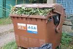 Nádoba na bioodpad.