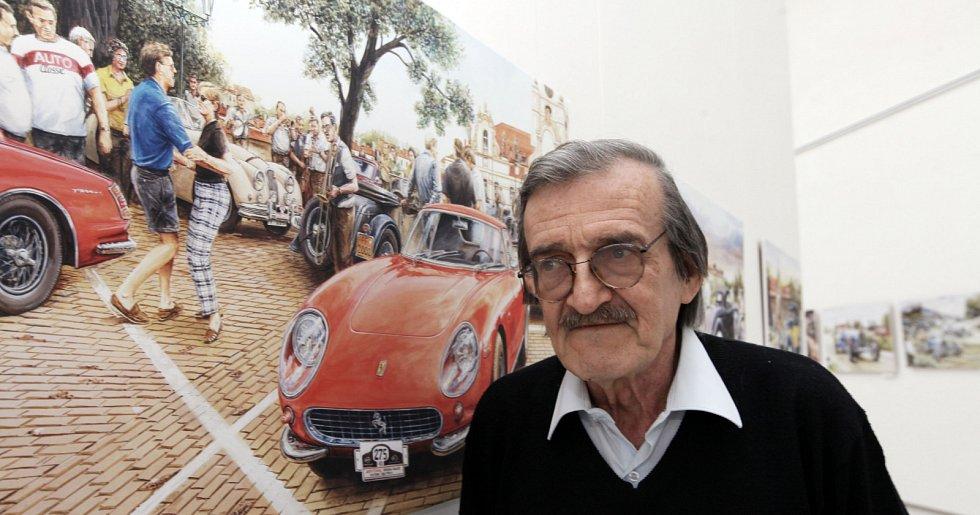 Výstava 95 velkoformátových reprodukcí Václava Zapadlíka