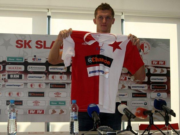 Fotbalový útočník Tomáš Necid se vrátil do dresu pražské Slavie e396dd8764c
