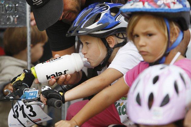 Poslední závod seriálu dětských závodů Tour de kids