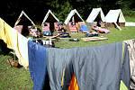 Dětský tábor. Ilustrační foto.