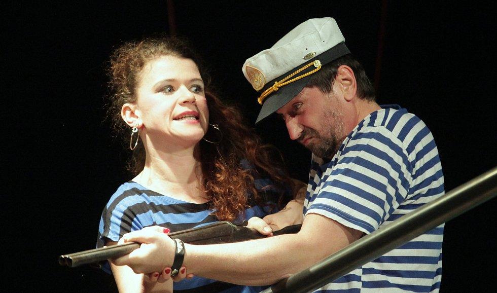 Zkouška nového představení Divadla pod Palmovkou Poprask na laguně v režii Michala Langa