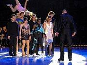 KRÁLOVÉ LEDOVÉ ARÉNY. Svoji velkolepou show přivezl 17. dubna olympijský vítěz Jevgenij Pljuščenko .