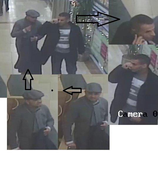 Podezřelí muži.