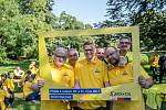 KDU-ČSL zahájila 5. září v Praze ostrou kampaň před podzimními sněmovními volbami. Na snímku Daniel Herman, Pavel Bělobrádek, Marian Jurečka a Jan Bartošek.