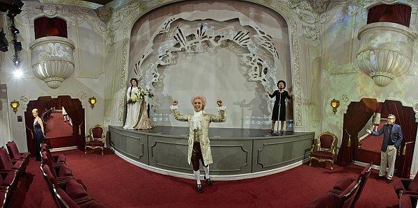 Grévin Praha - Muzeum voskových figurín.