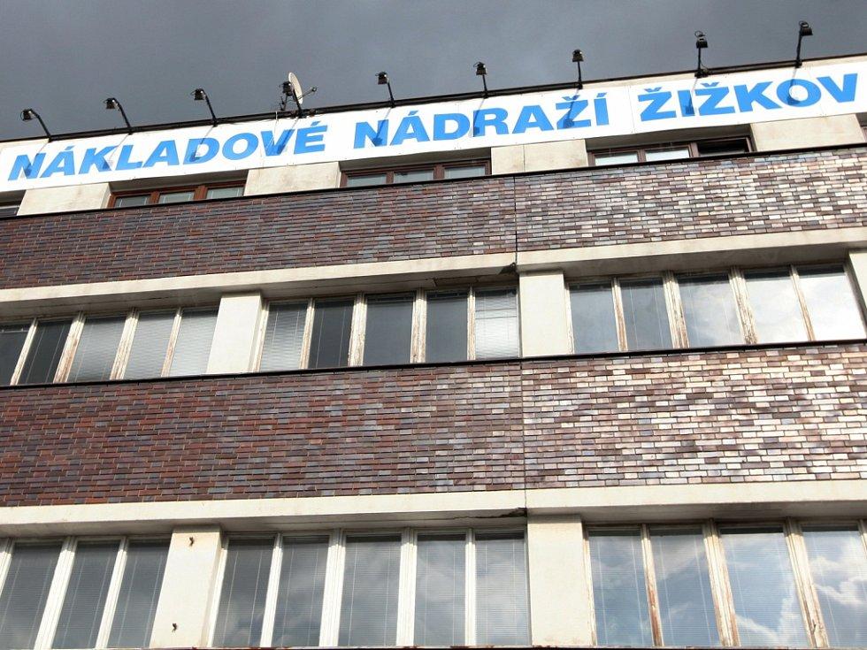 Nákladové nádraží Žižkov.