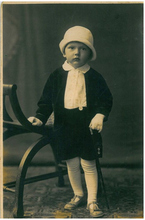 Josef Chrastil tříletý.