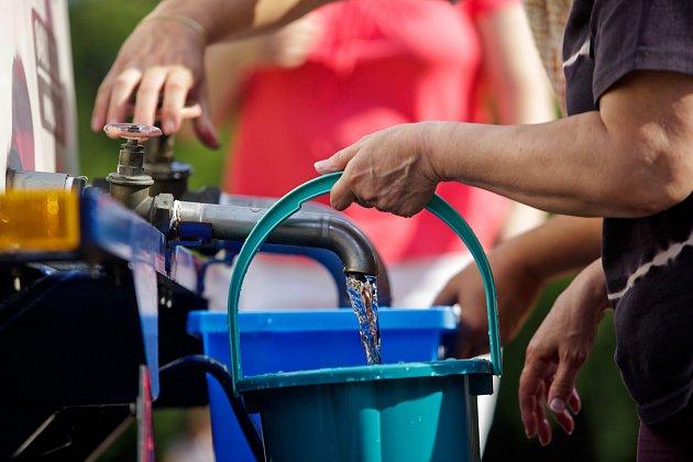 Havárie vodovodu. Ilustrační foto.