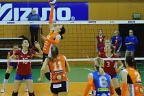 Kdo výš? Duelu Olymp versus Olomouc dominovaly Hanačky.