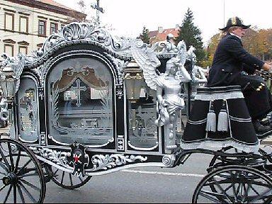 Pohřeb Václava Kočky.