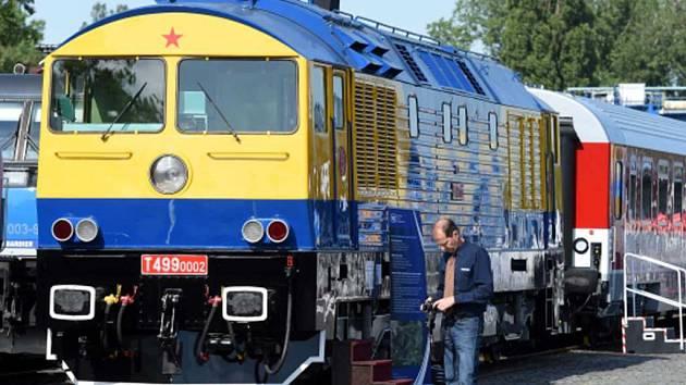 Lokomotiva Kyklop. Ilustrační foto.
