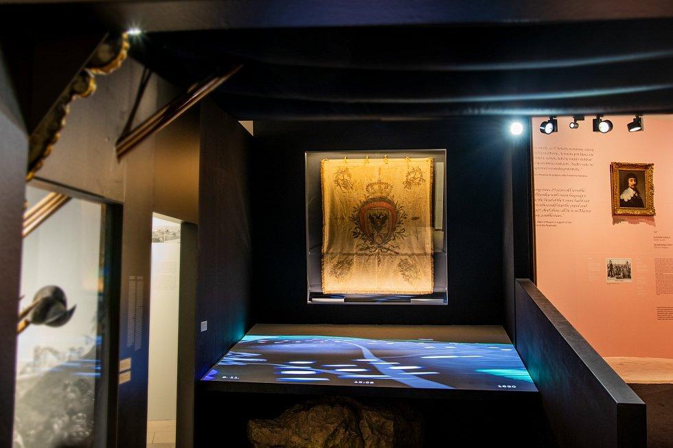 U příležitosti výročí popravy 27 českých pánů prezentuje Národní muzeum vůbec poprvé prapor, který byl přímou součástí bitvy na Bílé hoře.