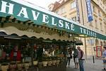 Havelské tržiště v Praze.