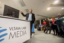 Slavnostní otevření Aviatiky a představení newsroomu Deníku