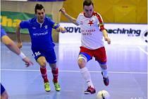 Futsalisté Slavie Praha v Chance lize.