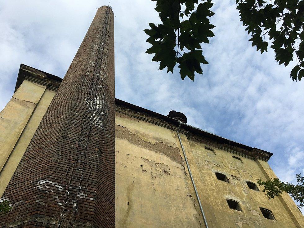 Bývalý pivovar v Nuslích.