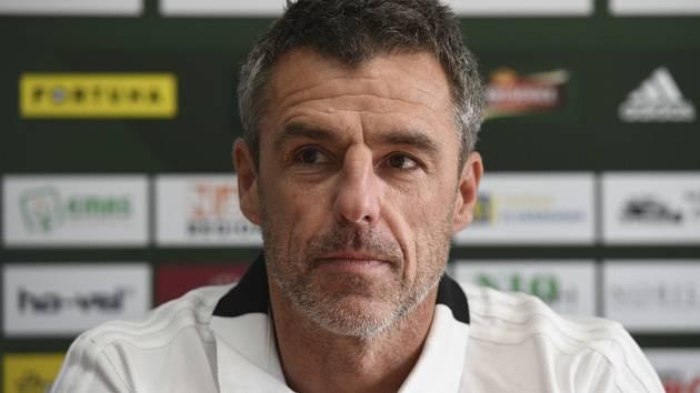 Hlavní trenér Luděk Klusáček.