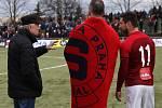 32. Silvestrovské derby Slavia - Sparta na hřišti s umělou trávou SK Slavia Praha.