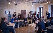 Tisková konference k otevření Pražského kreativního centra