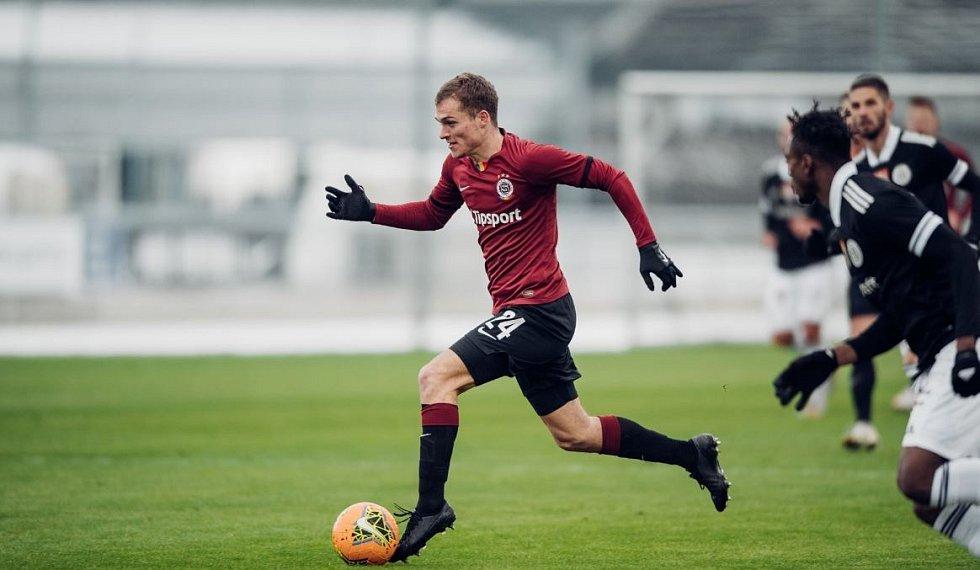 Fotbalisté Sparty prohráli v přípravě s Českými Budějovicemi 0:1.