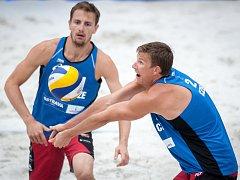 Hvězdy šampionátu (zleva) Ondřej Perušič a David Schweiner.