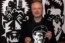 Zahájení výstavy v rámci festivalu KomiksFEST 2014. Komiksový výtvarník Jaromír Švejdík na výstavě Jaromír 99 PRŮ/ŘEZ v Galerii Můstek provede návštěvníky svou dosavadní tvorbou