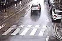 Hledané bílé vozidlo.