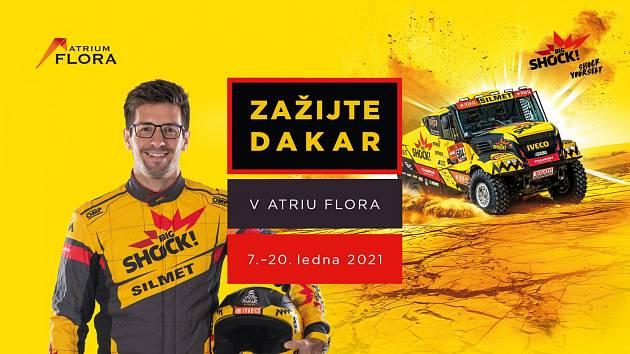 Ve vinohradském Atriu Flora vás čeká spousta zajímavostí z legendárního závodu Rallye Dakar.