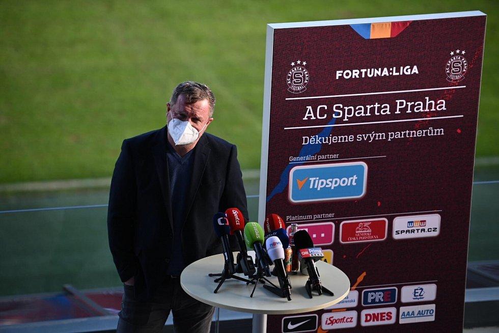 Pavel Vrba se stal trenérem fotbalistů Sparty Praha.