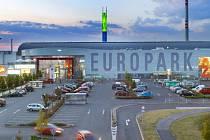 Obchodní centrum Europark se rozroste až na dvojnásobek, investorem je DBK Praha.