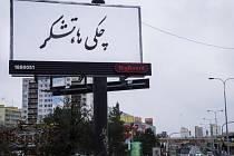 Billboardy organizace Člověk v tísni.