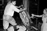 Cukrovar – Průmysl se v Modřanech po 2. světové válce natolik rozmohl, že zde bylo přes 9000 pracovních míst.