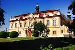 Libeňský zámek. Ilustrační foto.