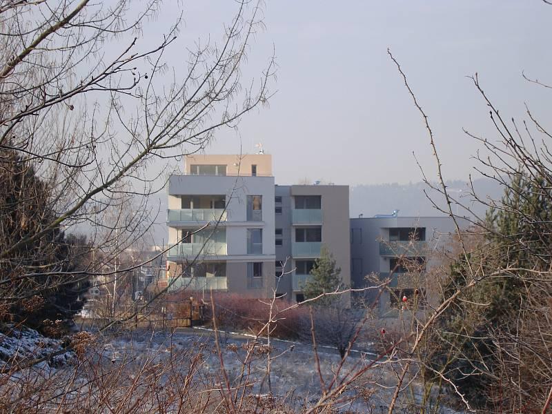 Bytový dům v ulici Písková v Modřanech.