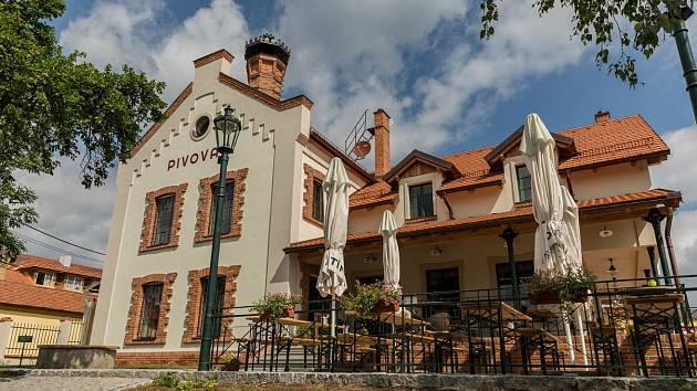 Pivovar v Kytíně.