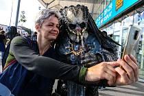 Z festivalu Comic-Con Prague v hale O2 universum.