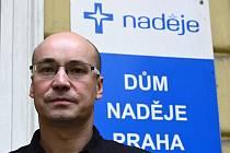 Jan Kadlec, oblastní ředitel pobočky Naděje Praha.