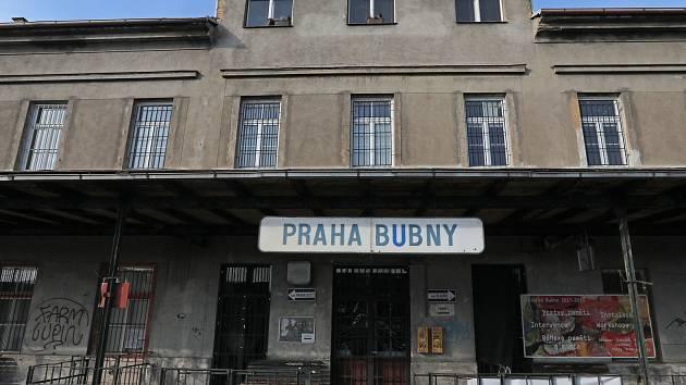 Nádraží Praha - Bubny.