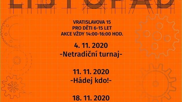 Dům dětí a mládeže Prahy 2 pořádá zase jeden netradiční turnaj.