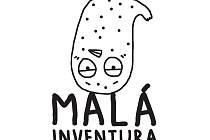 Logo festivalu Malá invetura.