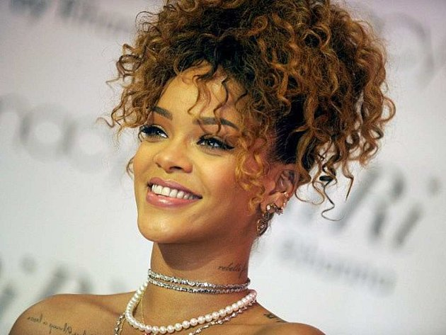 Barbadoská zpěvačka Rihanna.
