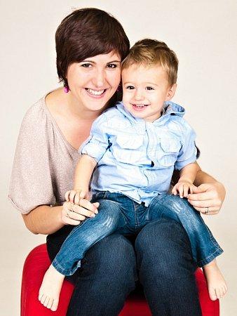 Hana Procházková se rozhodla pomoci rodičům shlídáním až po porodu syna.