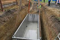 PRAHA 4 buduje první retenční nádrž v ZŠ Jílovská