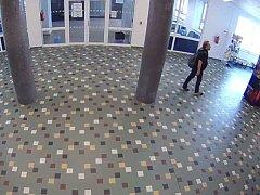 Krádež v budově ČVUT