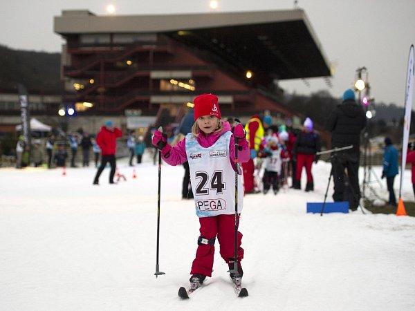 Skipark Chuchle vareálu dostihového závodiště vPraze.