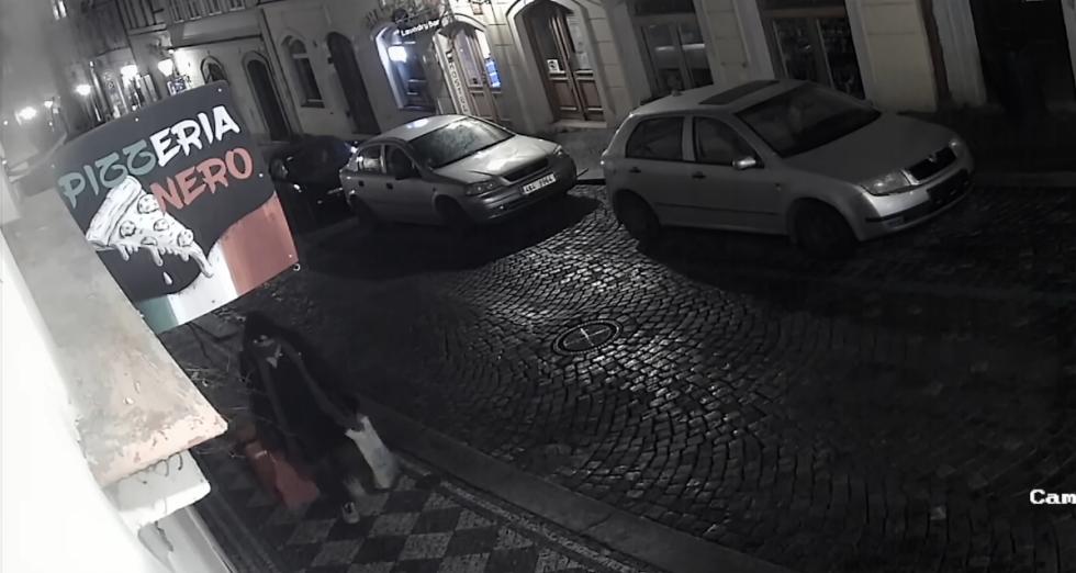 Policie hledá muže, který umístil k Pražskému hradu kufr, o kterém tvrdil, že je v něm bomba.
