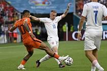 Slávistický záložník Petr Ševčík je na Euru ve formě. Ve čtvrtfinále proti Dánsku by měl dostat šanci v základu.