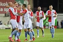 Gólovou radost si slávisté užili v Ďolíčku proti Bohemians hned pětkrát. A to vše v úseku mezi 56. a 76. minutou.